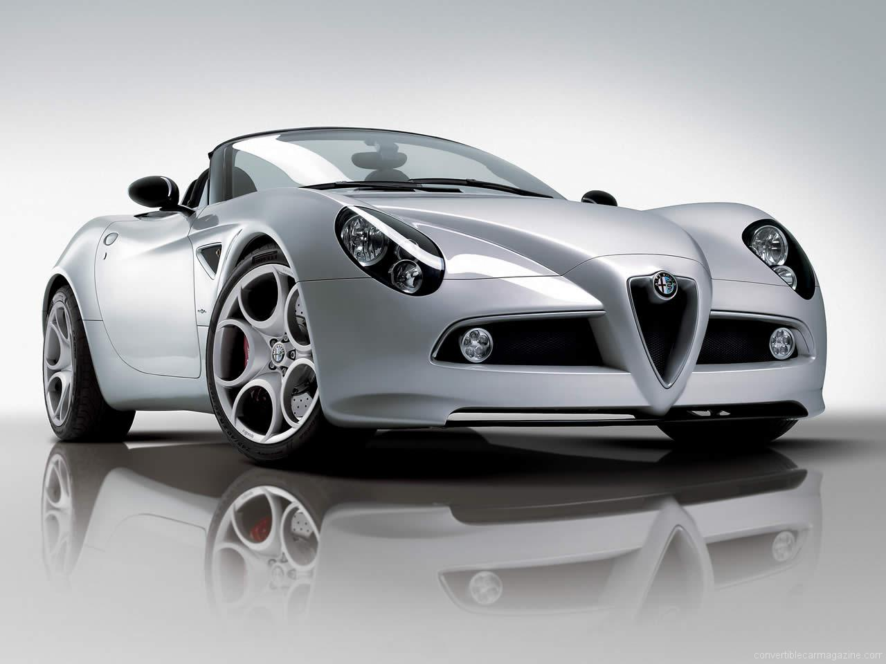 alfa romeo 8c spider buying guide. Black Bedroom Furniture Sets. Home Design Ideas