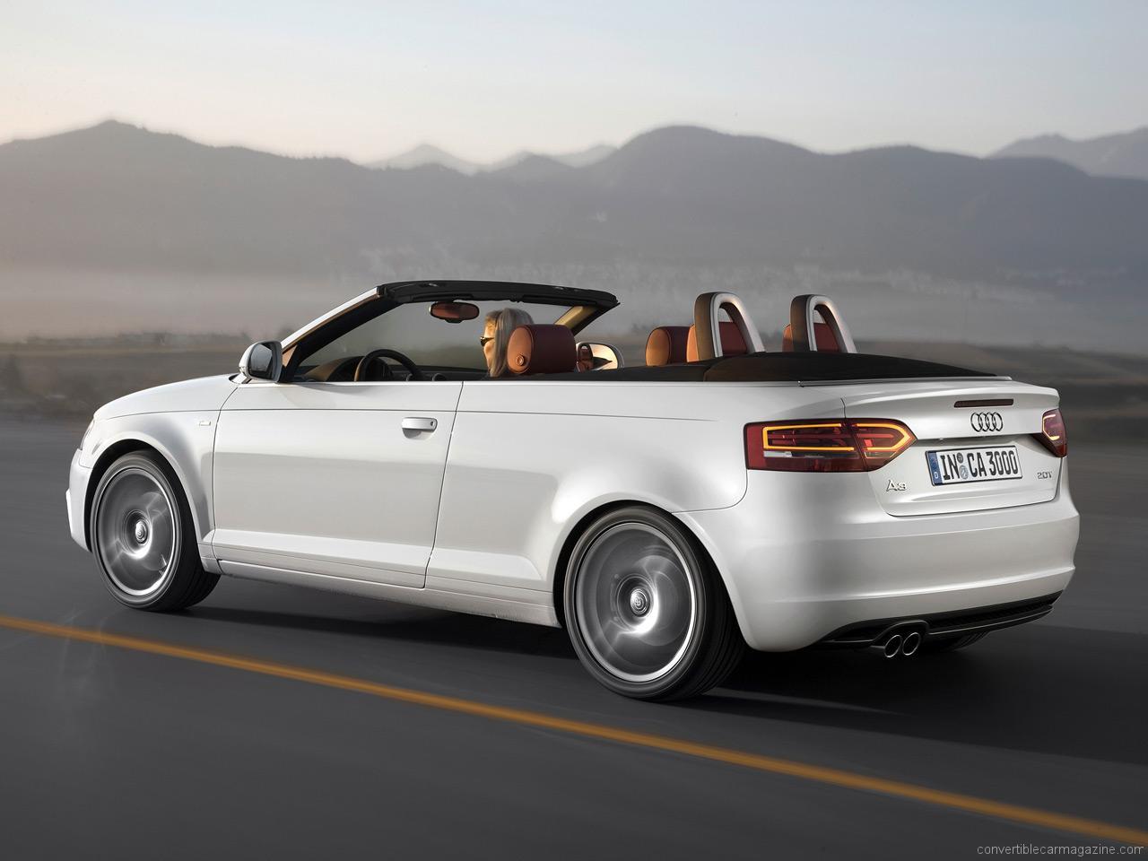 Audi A3 Hardtop Convertible