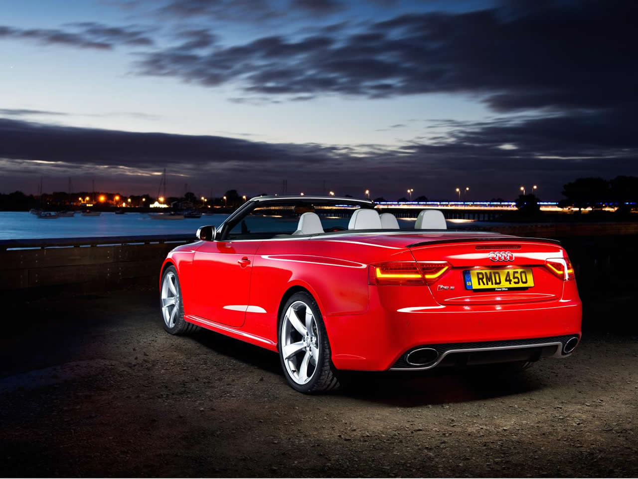 Audi rs5 convertible used 14