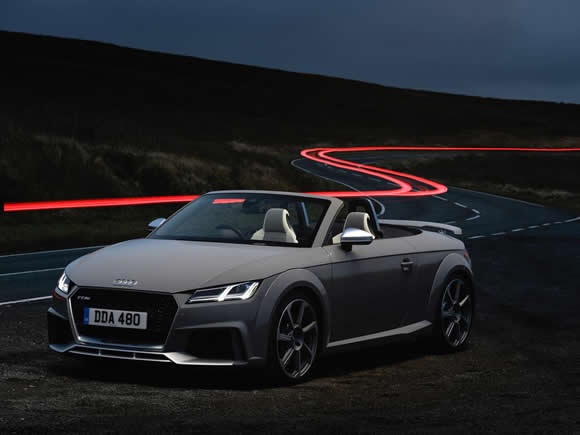 Audi TTRS Roadster 8S