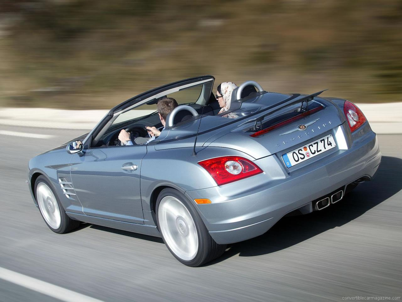 ... chrysler crossfire roadster chrysler crossfire roadster 2003 2007