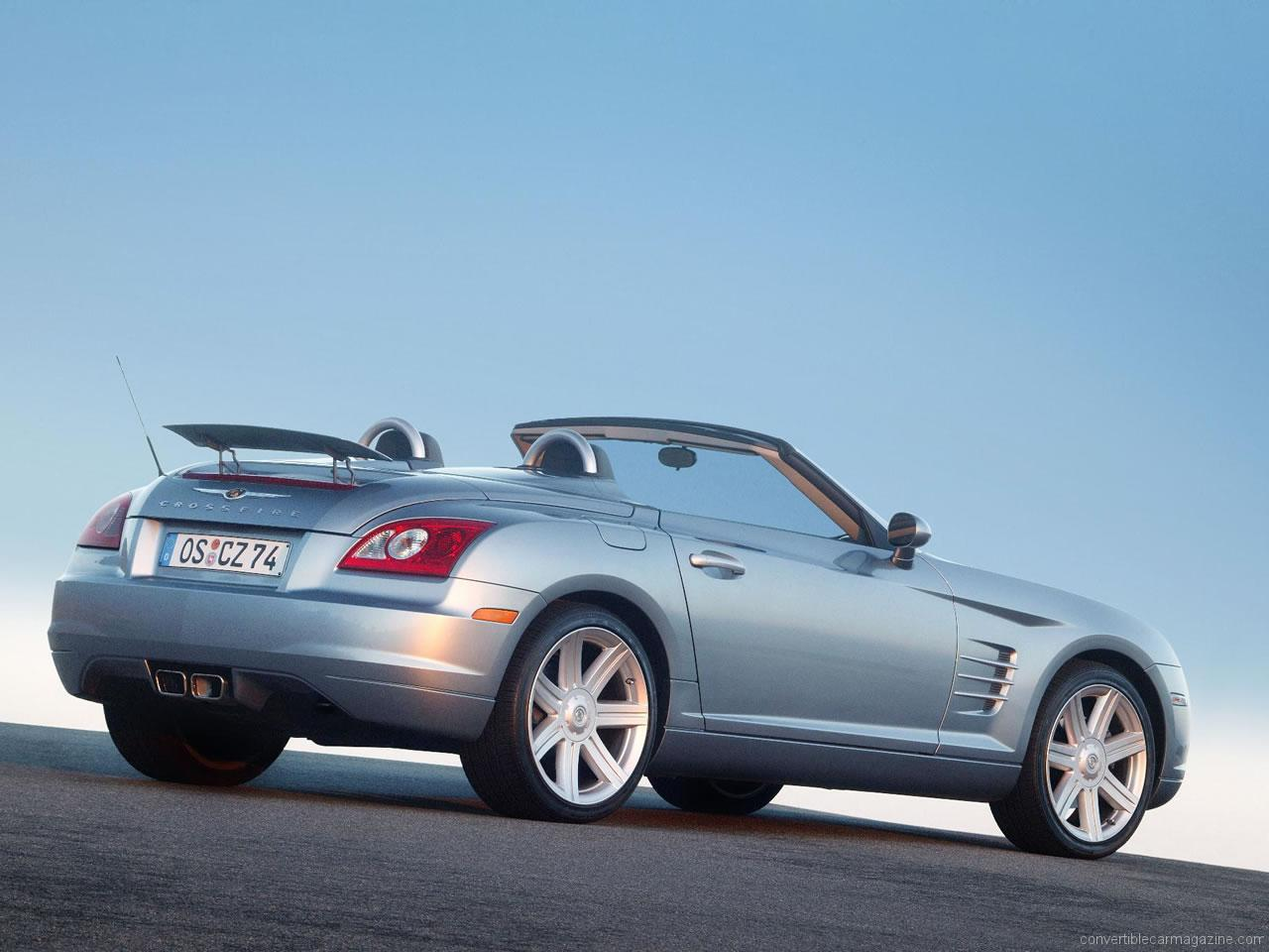 ... Chrysler Crossfire 3.2 V6 Roadster Chrysler Crossfire SRT-6 Roadster