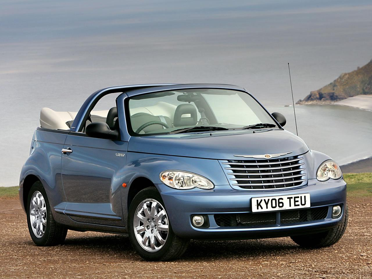 chrysler pt cruiser convertible buying guide. Black Bedroom Furniture Sets. Home Design Ideas