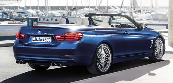 Alpina convertible cars