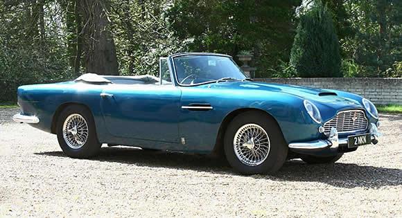 Classic Aston Martin Convertibles