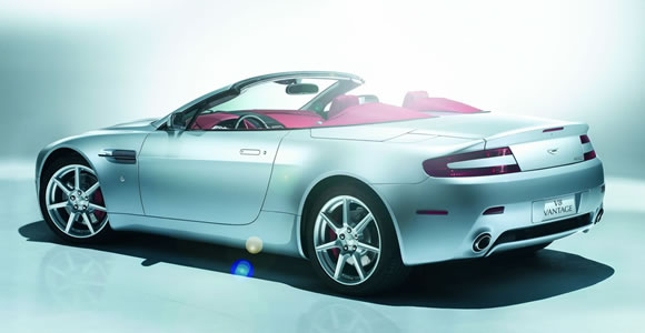 Aston Martin convertible cars