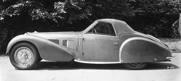 Classic Bugatti Convertibles