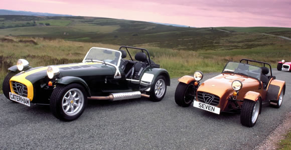 Caterham convertible cars