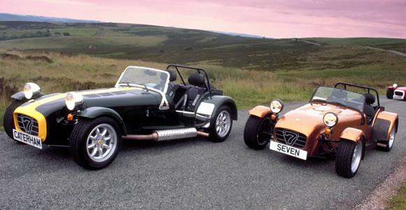 Caterham convertible cars