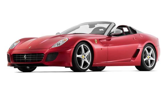 Ferrari convertible cars