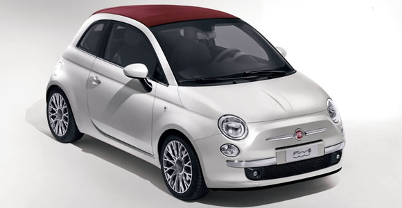 Fiat convertible cars
