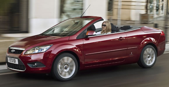 Ford convertible cars