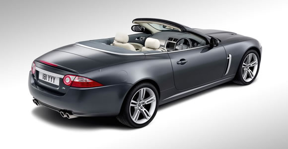 Jaguar convertible