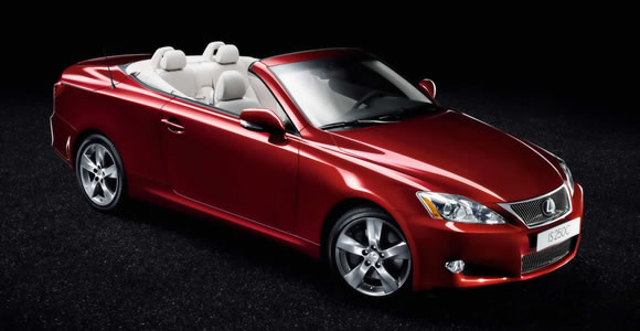 Lexus convertible cars