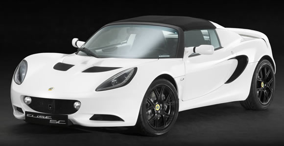 Lotus convertible cars