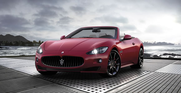 Maserati convertible cars