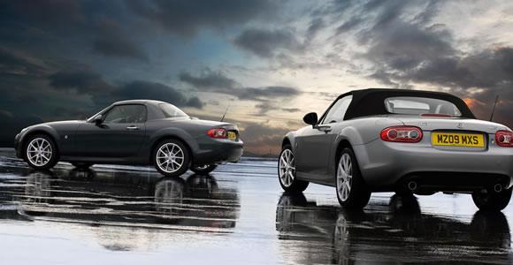 Mazda convertible cars