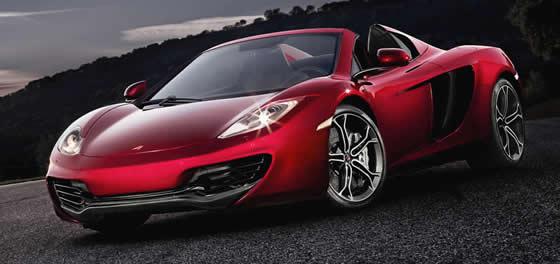 McLaren convertible cars