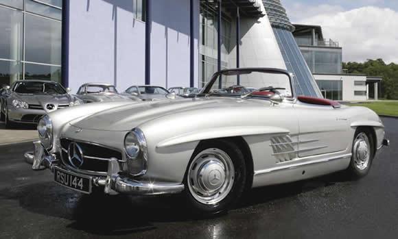 Classic Mercedes Convertibles