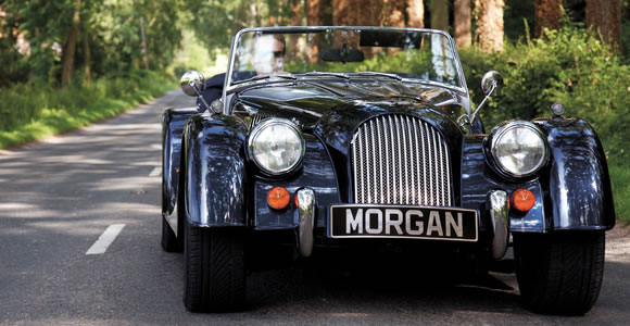 Morgan convertible cars