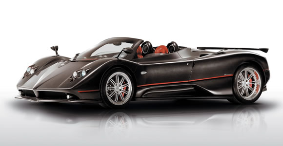 Pagani convertible cars