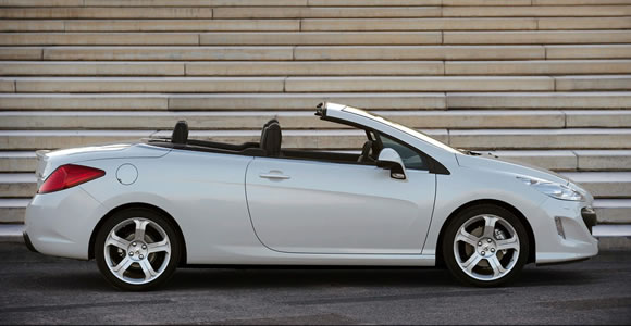 Peugeot convertible cars