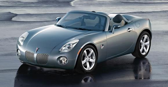 Pontiac convertible cars