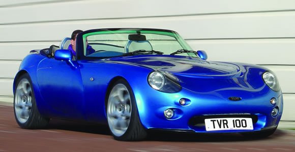TVR convertible cars