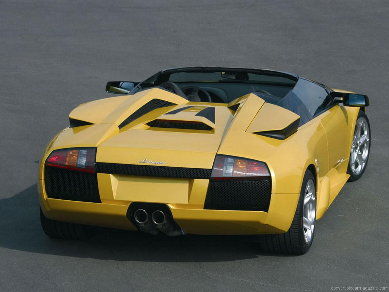 murcielago lp640 roadster: