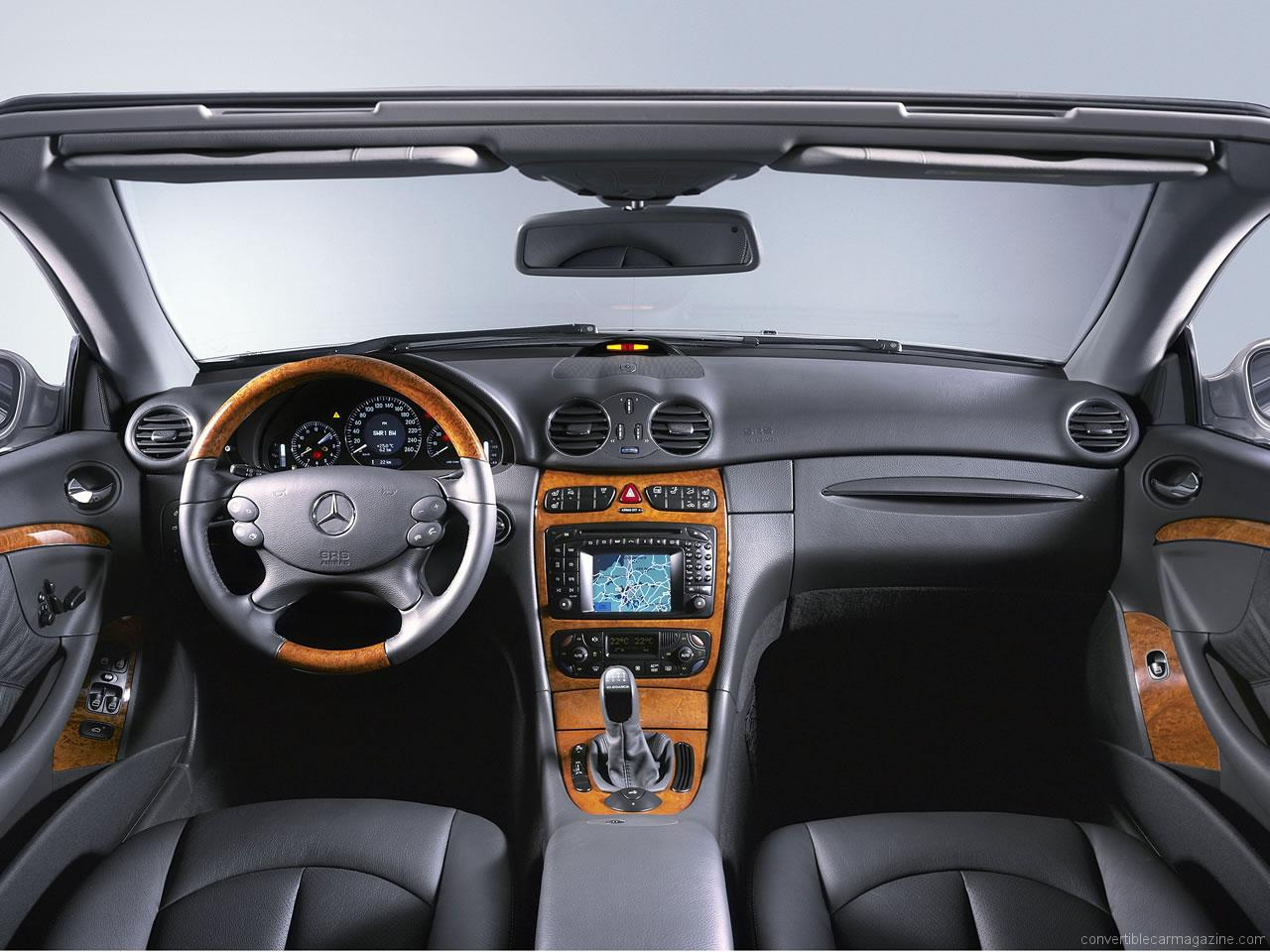 Mercedes benz clk cabriolet buying guide for Mercedes benz interieur