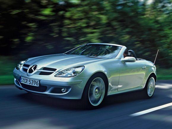 Mercedes SLK mk2