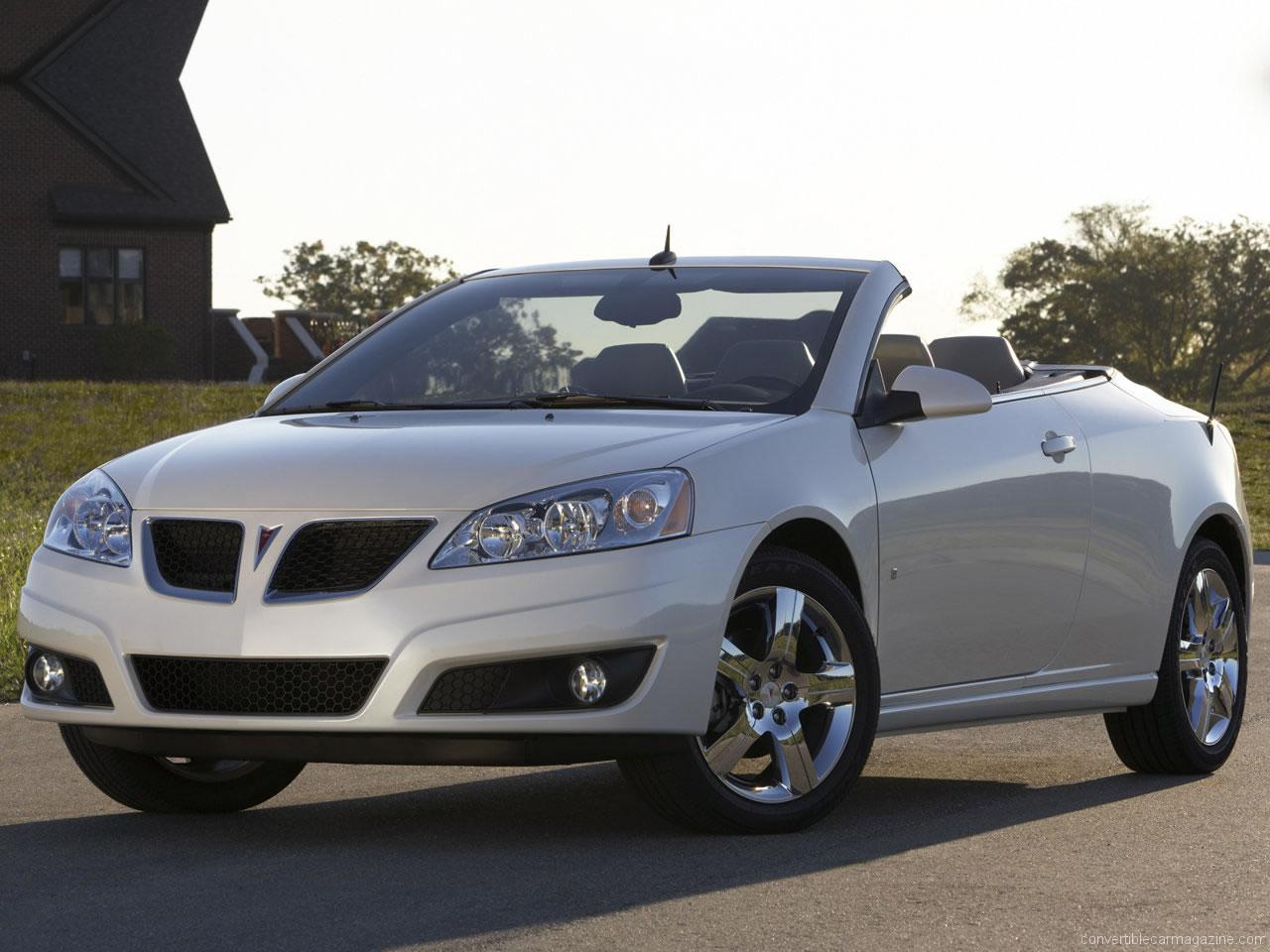 Pontiac G6 Convertible Buying Guide