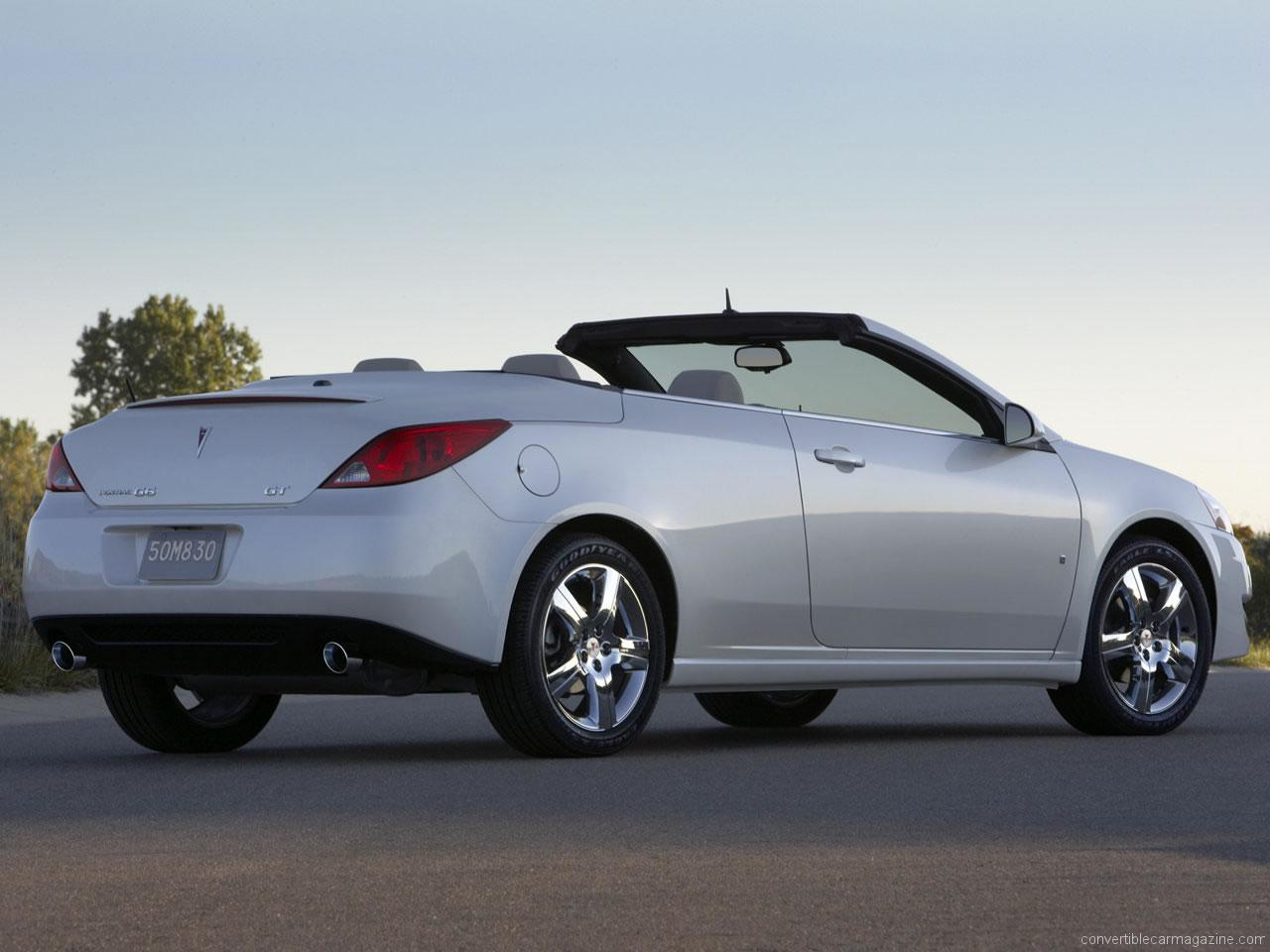 pontiac g6 convertible buying guide. Black Bedroom Furniture Sets. Home Design Ideas