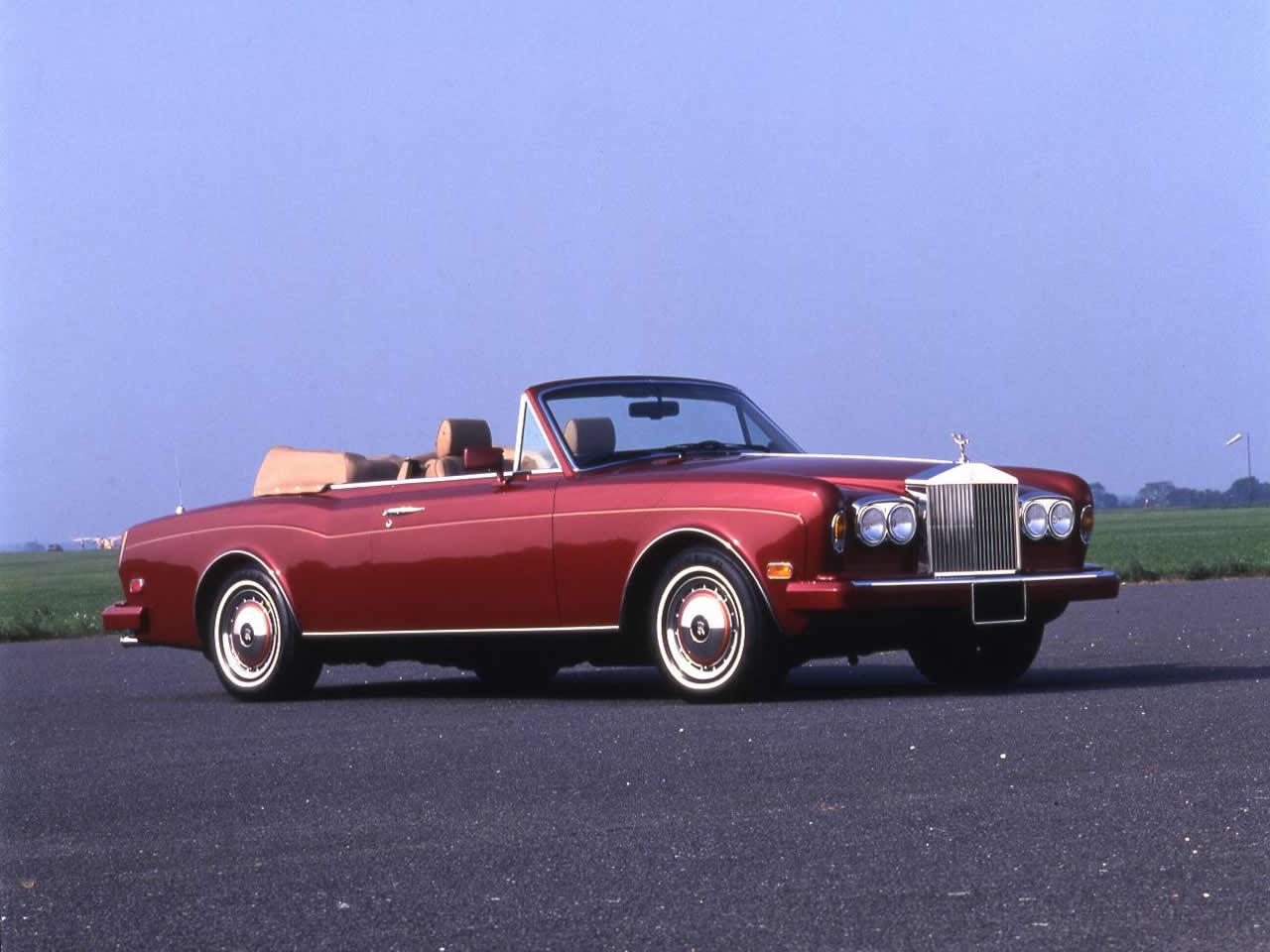 Classic Rolls Royce Corniche Convertible Buying Guide