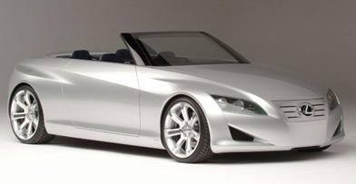 Lexus LFC Convertiblei
