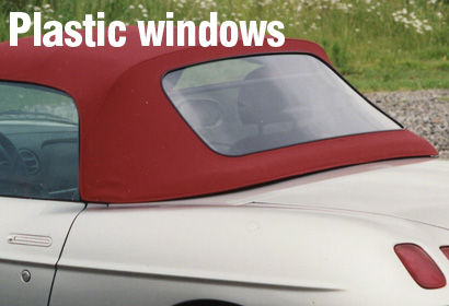 Plastic window maintenance