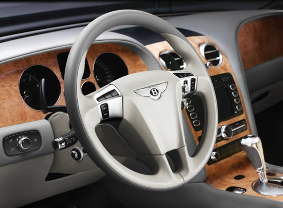 Bentley Continental GTC Speed interior