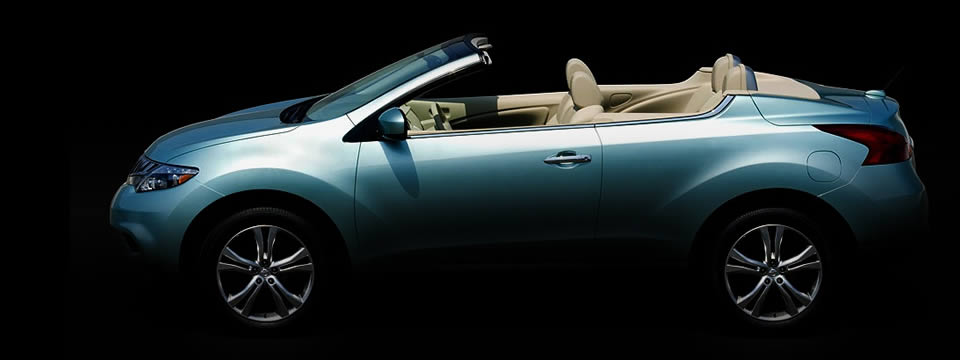 nissan murano crosscabriolet convertible car magazine. Black Bedroom Furniture Sets. Home Design Ideas
