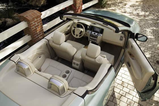 Nissan Murano CrossCabriolet interior