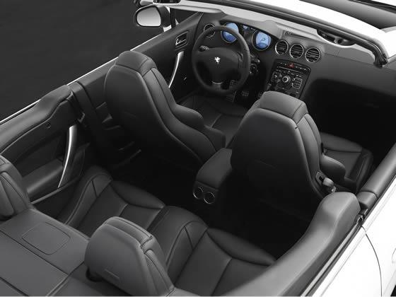 Peugeot 308cc interior