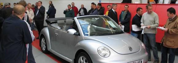 Convertible car auction
