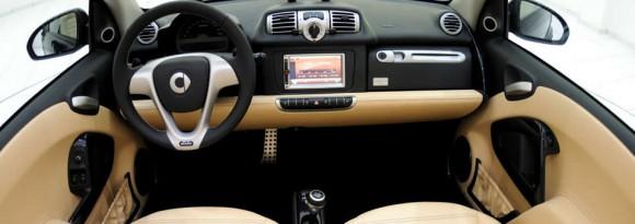 Smart ForTwo Cabrio Brabus La Bleue