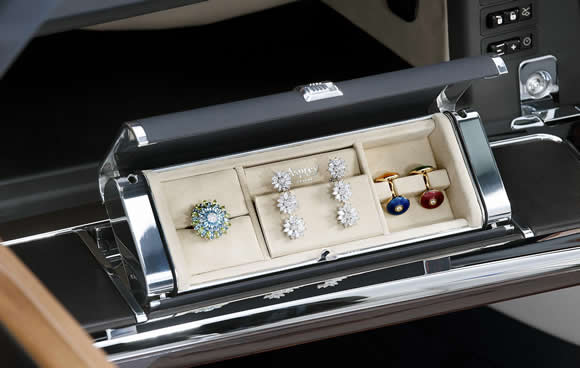 Rolls-Royce jewellery box