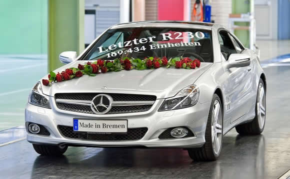 The last R230 Mercedes SL
