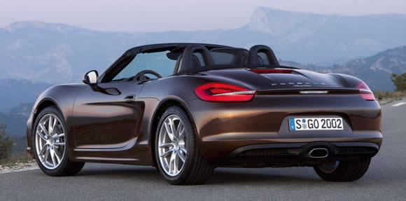 New Porsche Boxster
