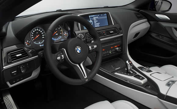 BMW M6 Convertible interior