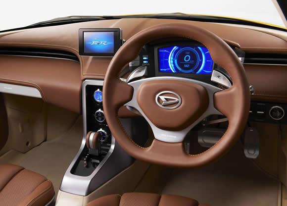Daihatsu D-R interior