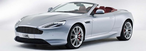 new Aston Martin DB9 Volante