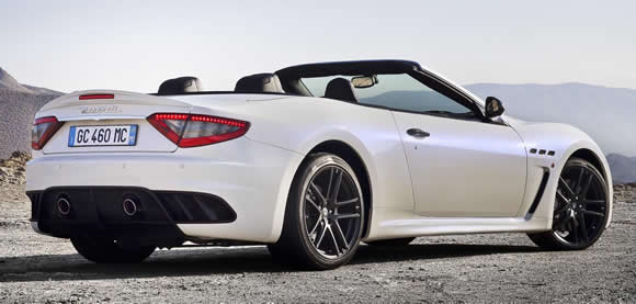 Maserati GranCabrio MC rear
