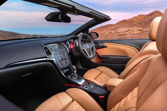 Vauxhall Cascada Interior
